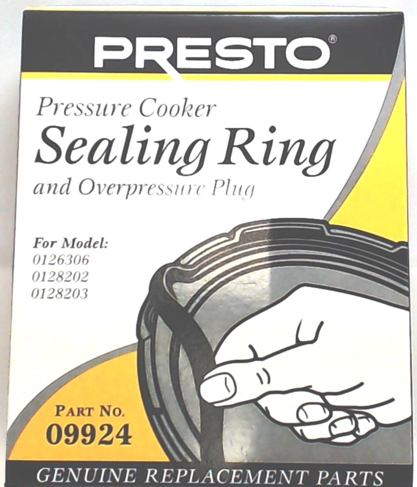 09901 Pressure Cooker Sealing Ring Gasket For 6 Qt Fits Presto 106 Models