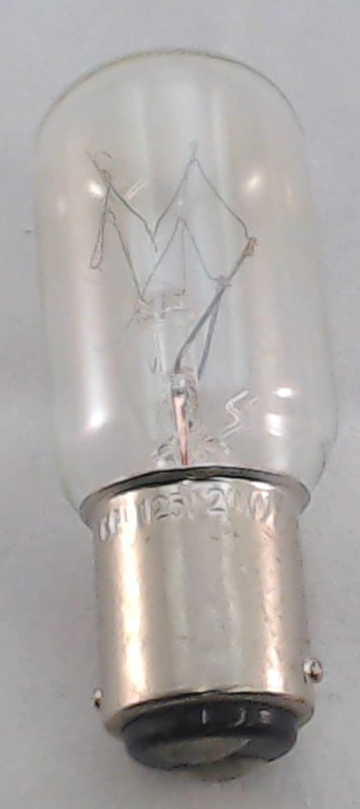 Bissell Vacuum Light Bulb Model 3545 20w 2031007 Ebay