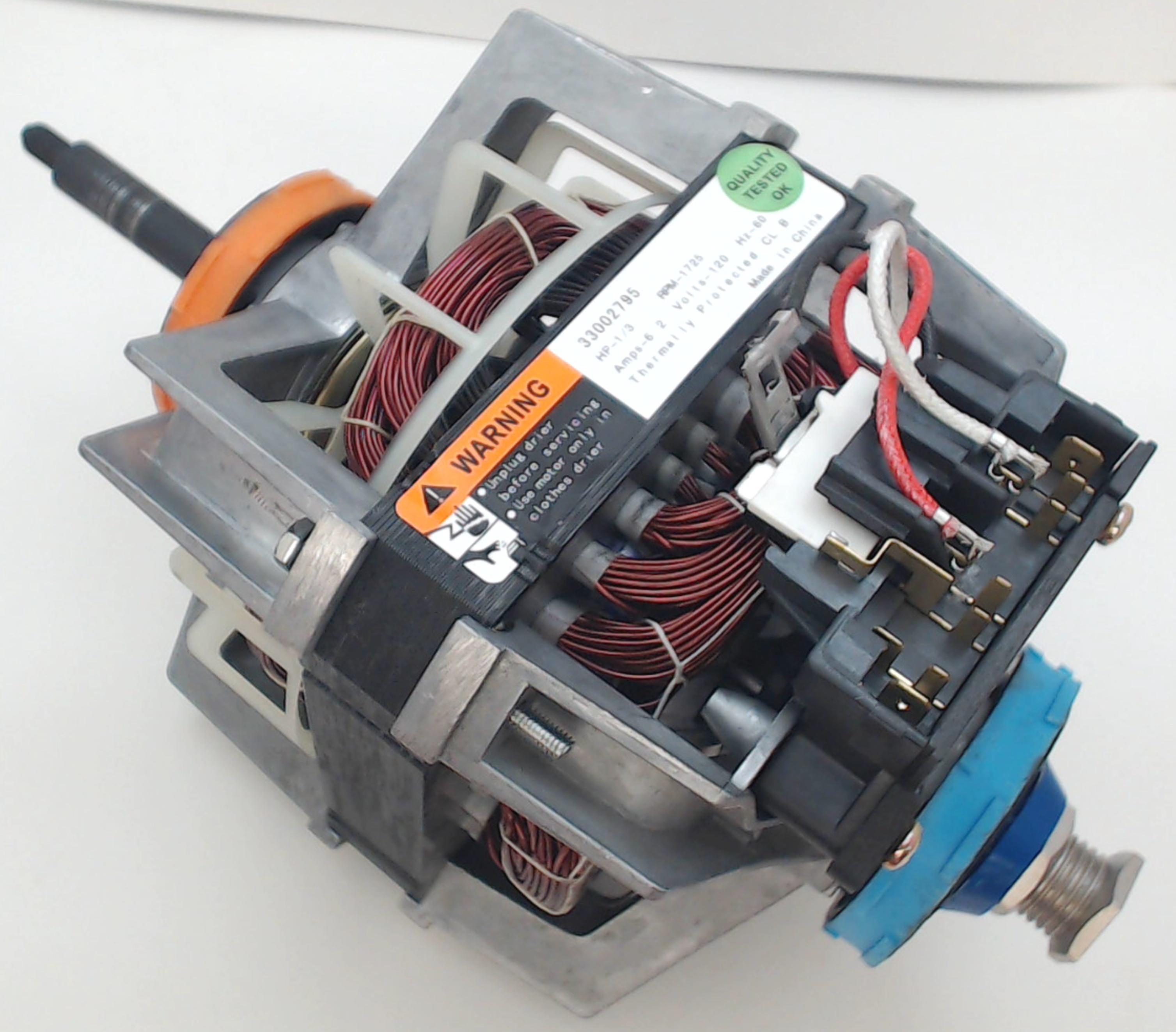 33002795 Dryer Motor Fits Roper Kenmore Whirlpool 793713641140 Ebay Maytag Electric Gas Tumbler Parts Model Mdg9316aww