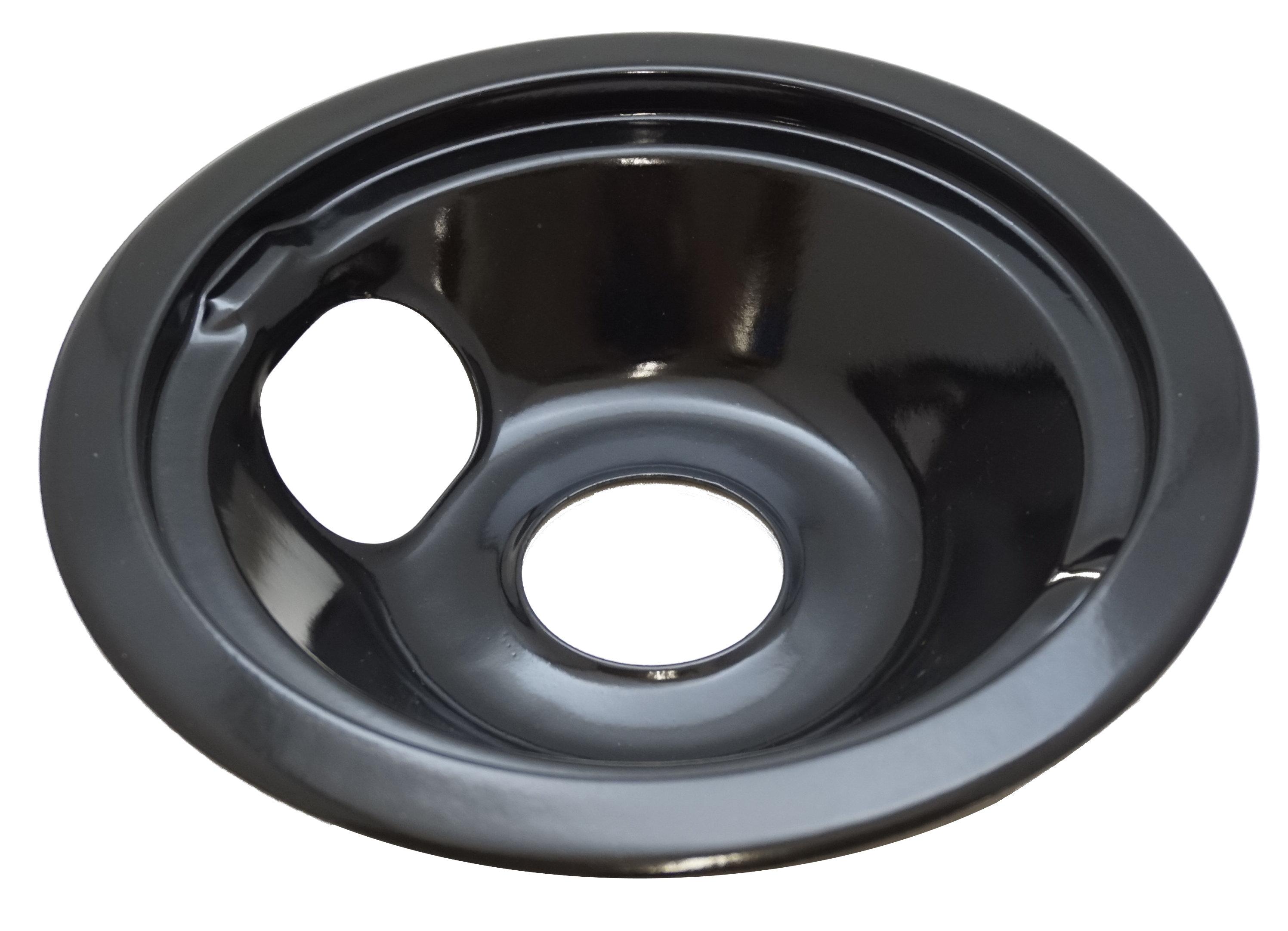 "Electric Stove Range Cooktop 6/"" Black Burner Drip Pan Bowl WB31K5043 WB32X5104"