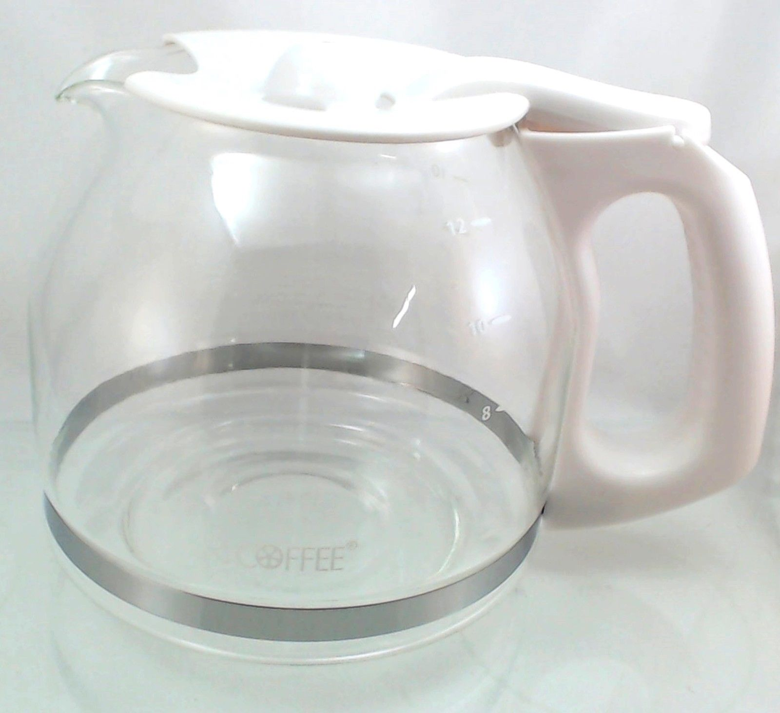 Mr Coffee Coffeemaker Glass Carafe White 12 Cup Pld13 Ebay
