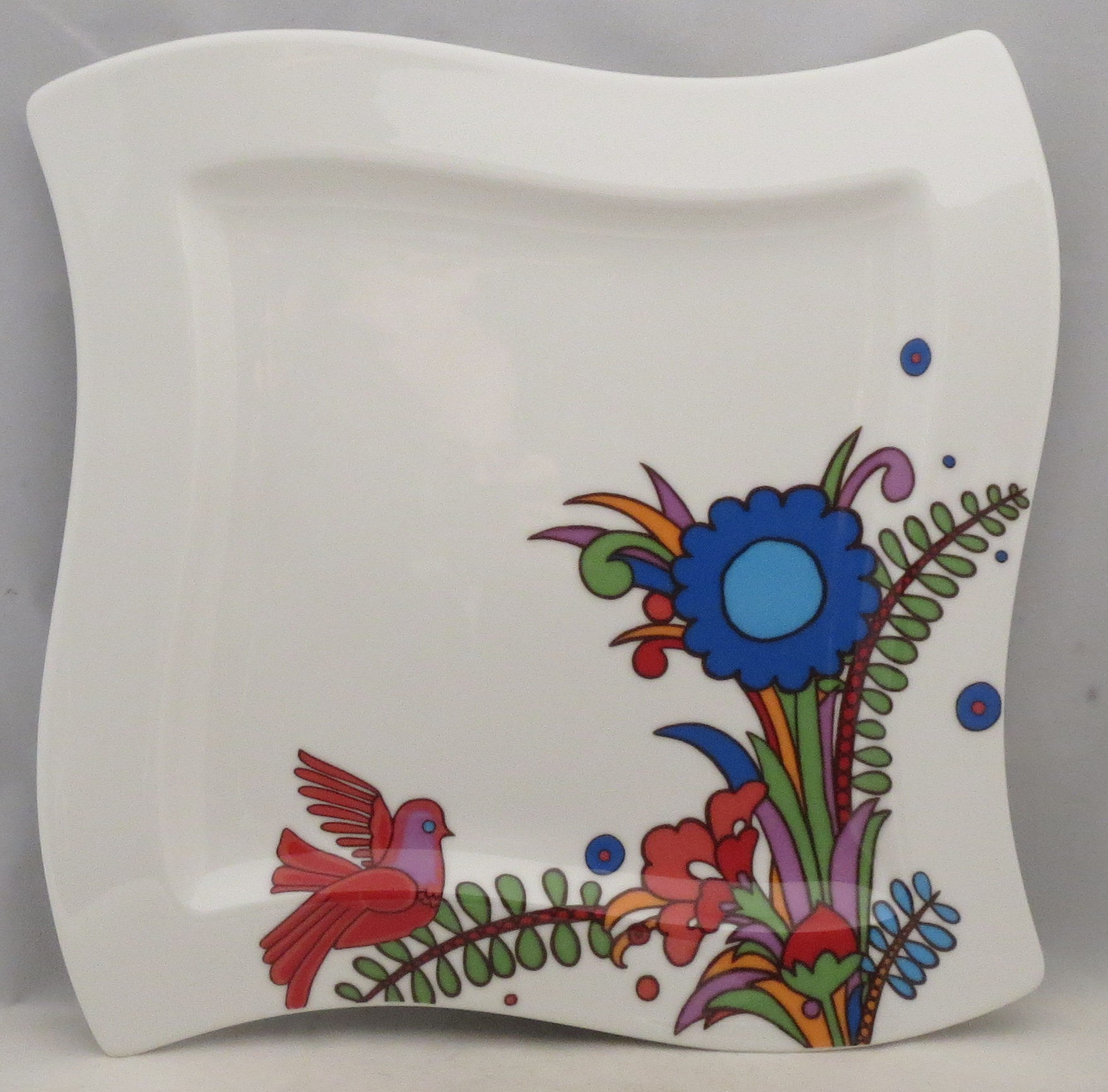 Imperfect Villeroy /& Boch Intarsia Dinner Plate
