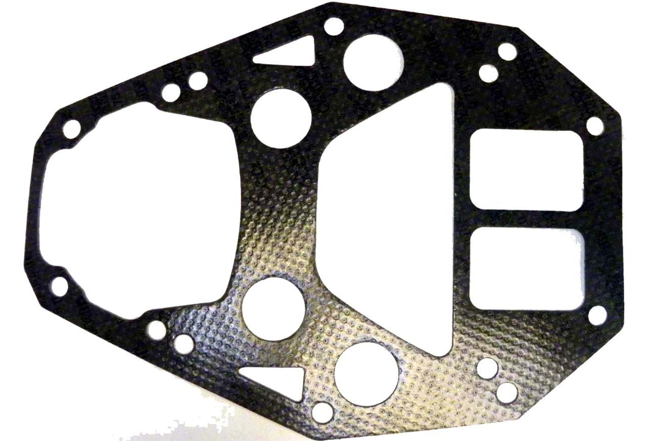 NEW CARBURETOR MANIFOLD GASKET FITS JOHNSON//EVINRUDE V6 CROSS FLOW 2.5L 1982-85