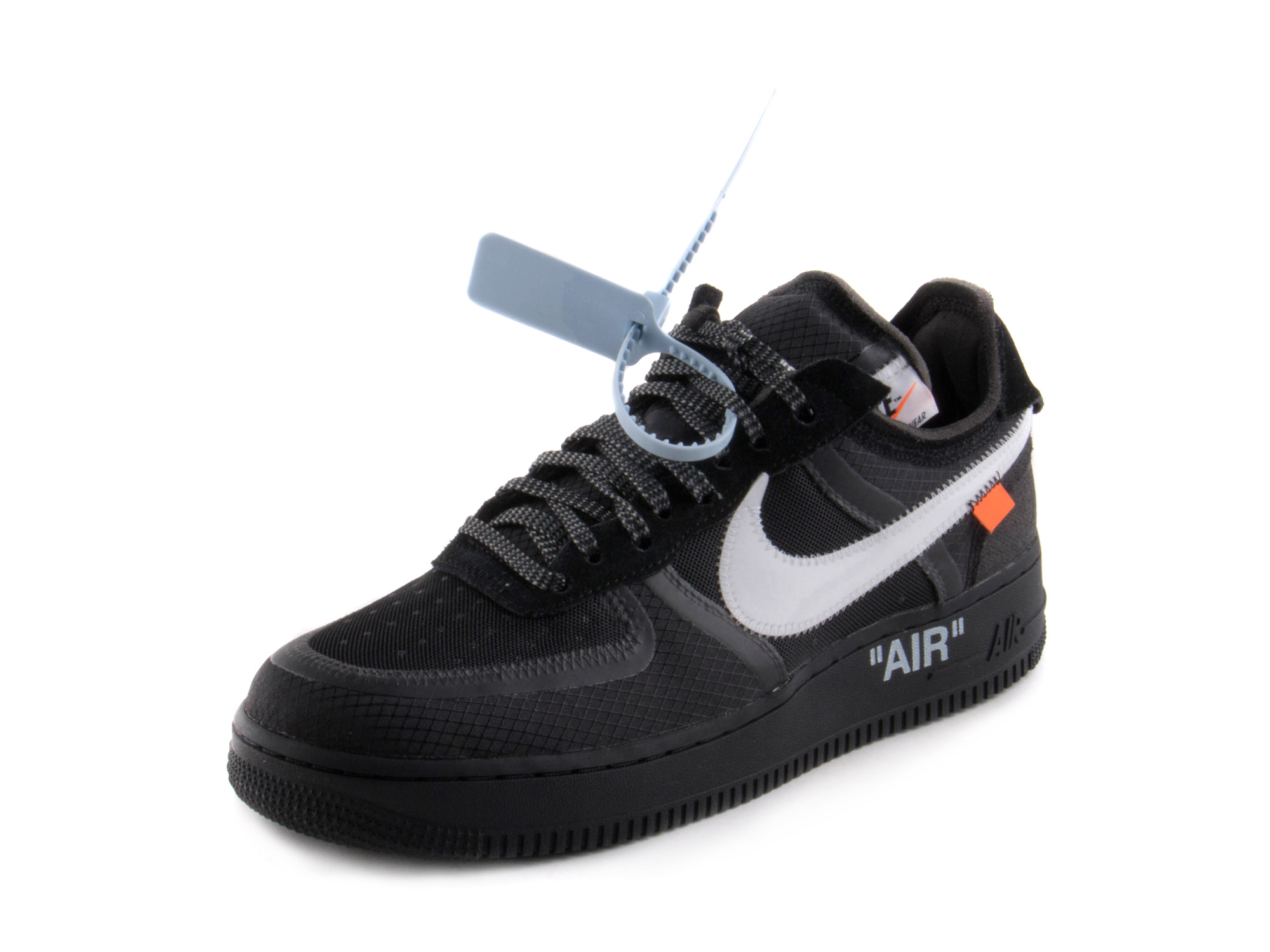 Nike Mens The 10  Nike Air Force 1 Low  Black  Black White-Cone AO4606-001