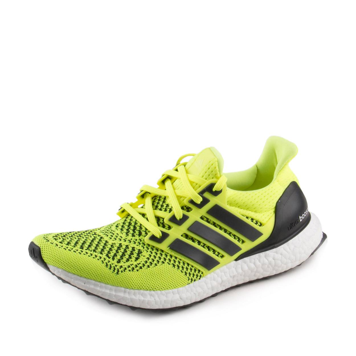 reputable site 1af7e b3fb4 Details about Adidas Mens Ultra boost 1.0 Neon Yellow Volt Black S77414  Size 8.5
