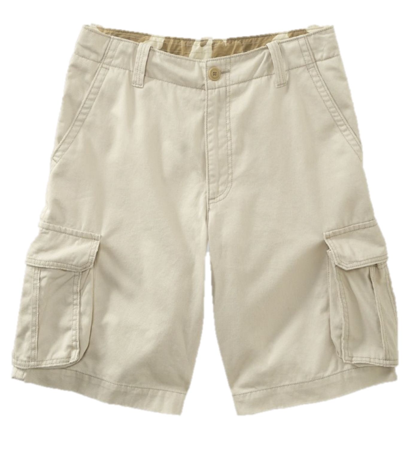 Aeropostale Mens Cargo Shorts Longer Length Khaki Chino Work ...