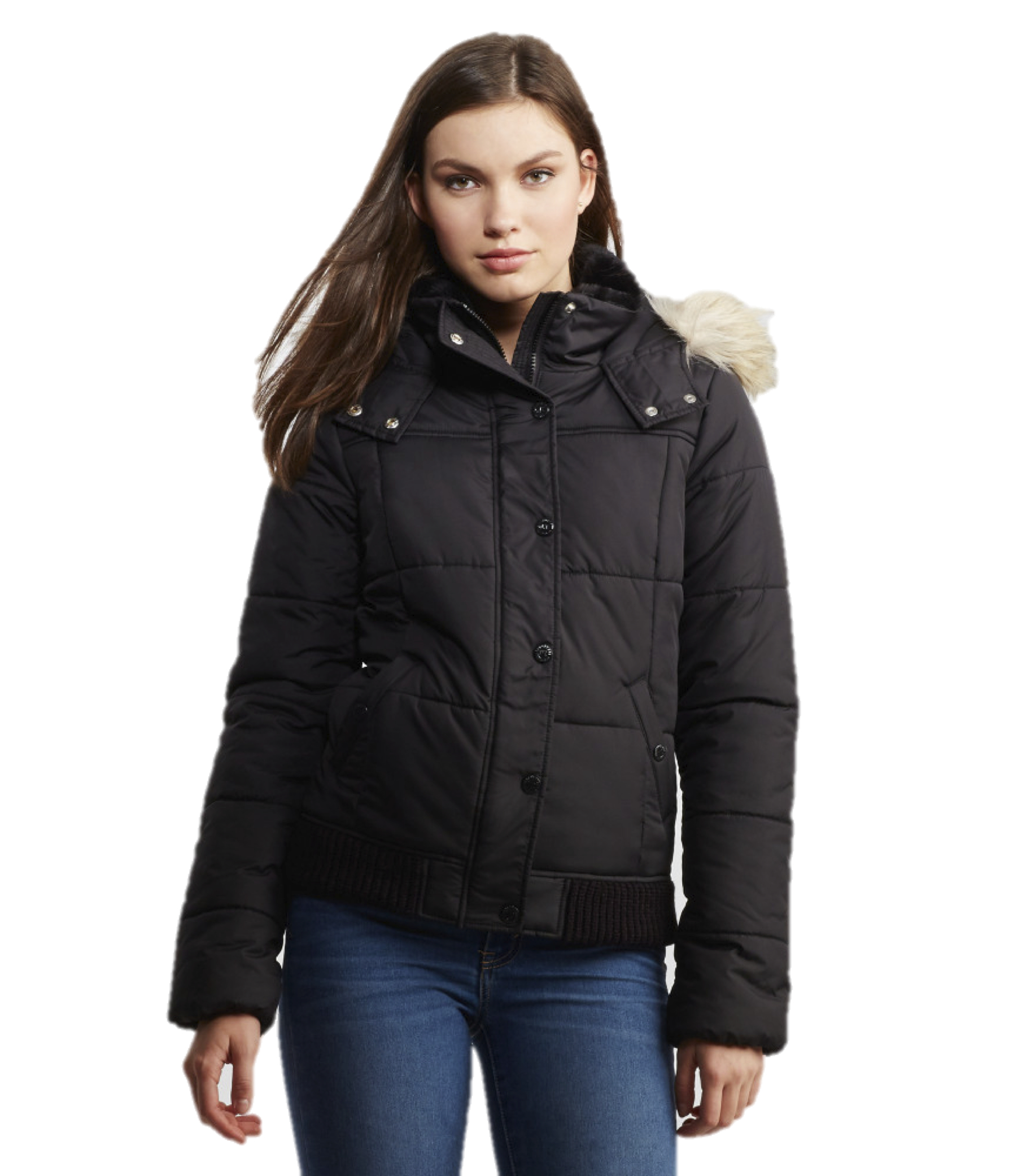 Puffy jackets for women