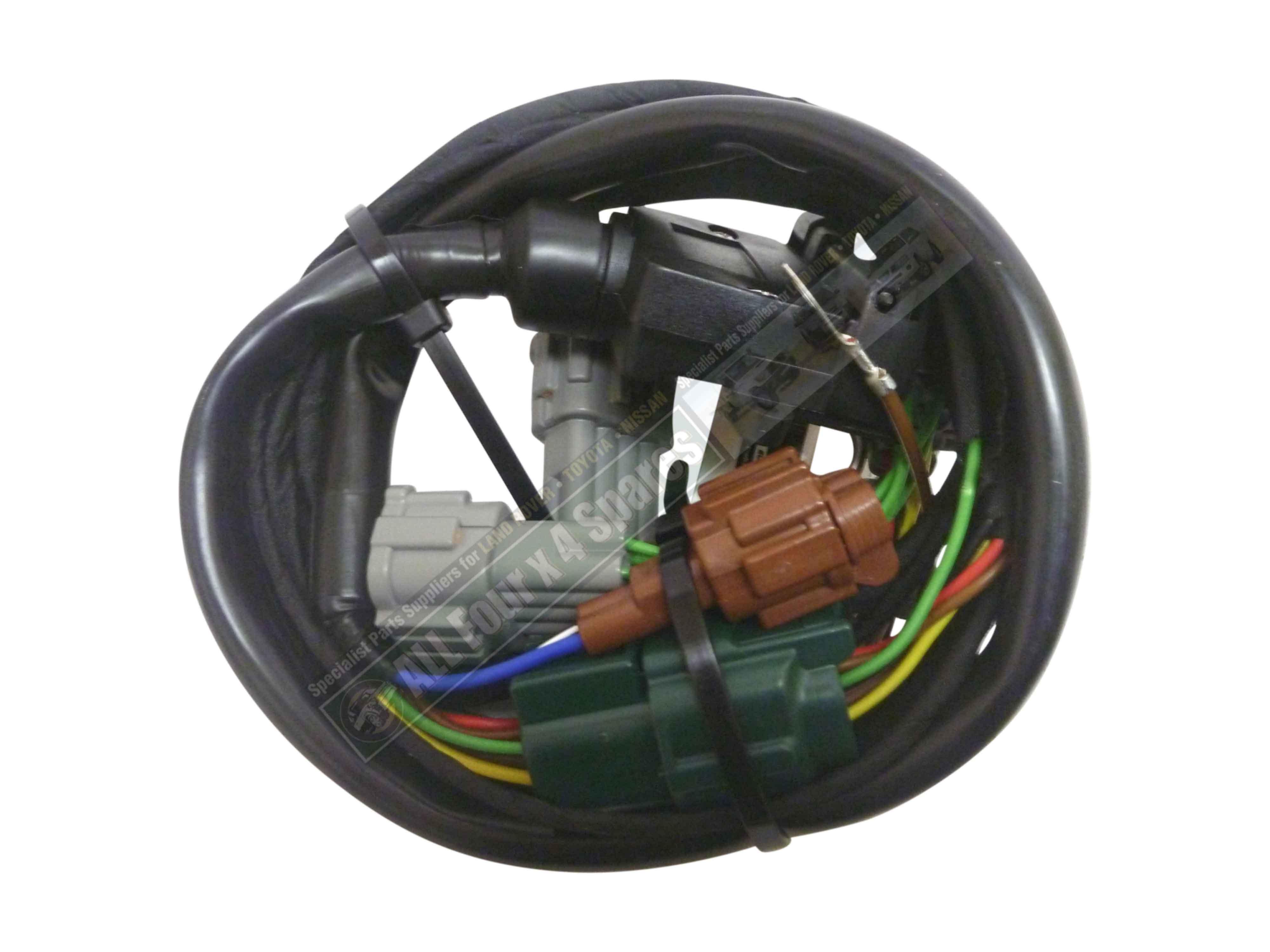 Milford Towbar Wiring Harness Nissan Navara D22 D40 2005 On Ebay Wire Space