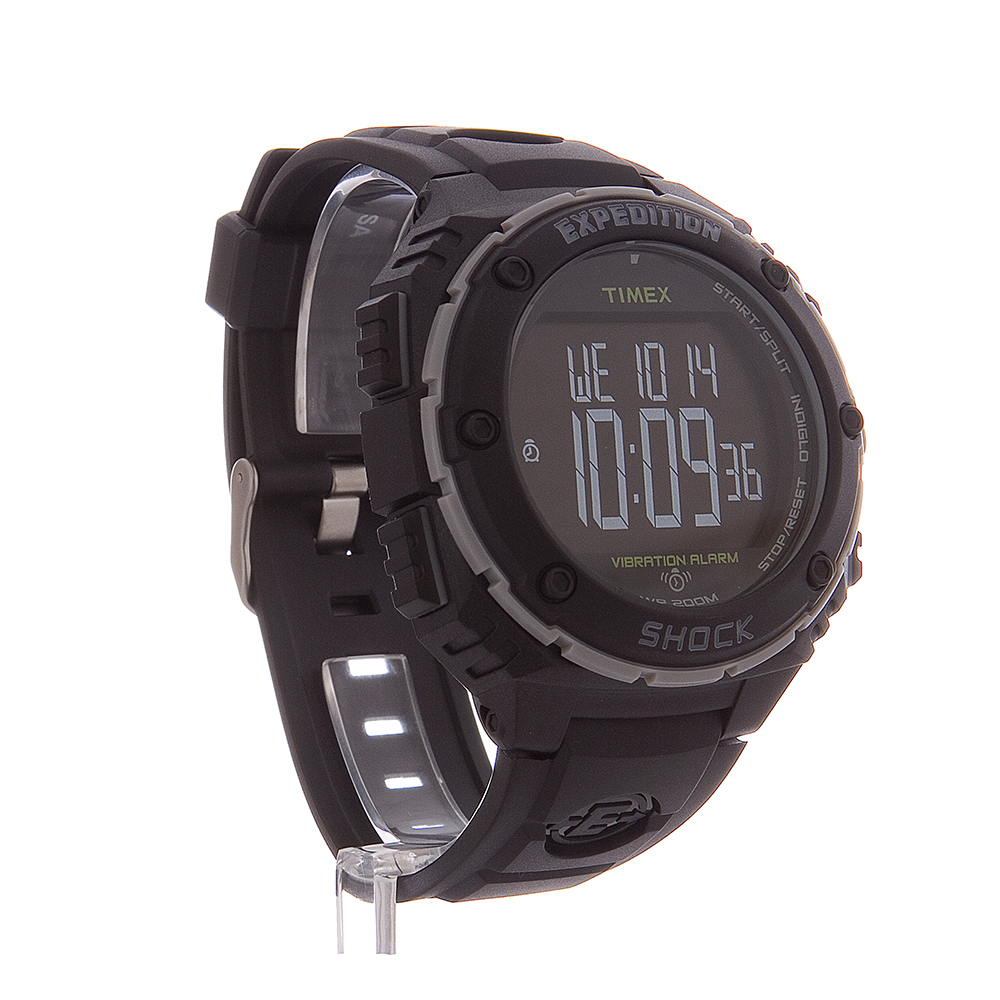 Timex TW4B02500 Expedition Shock Digital Display Black ... |Timex Expedition Digital Watches Men