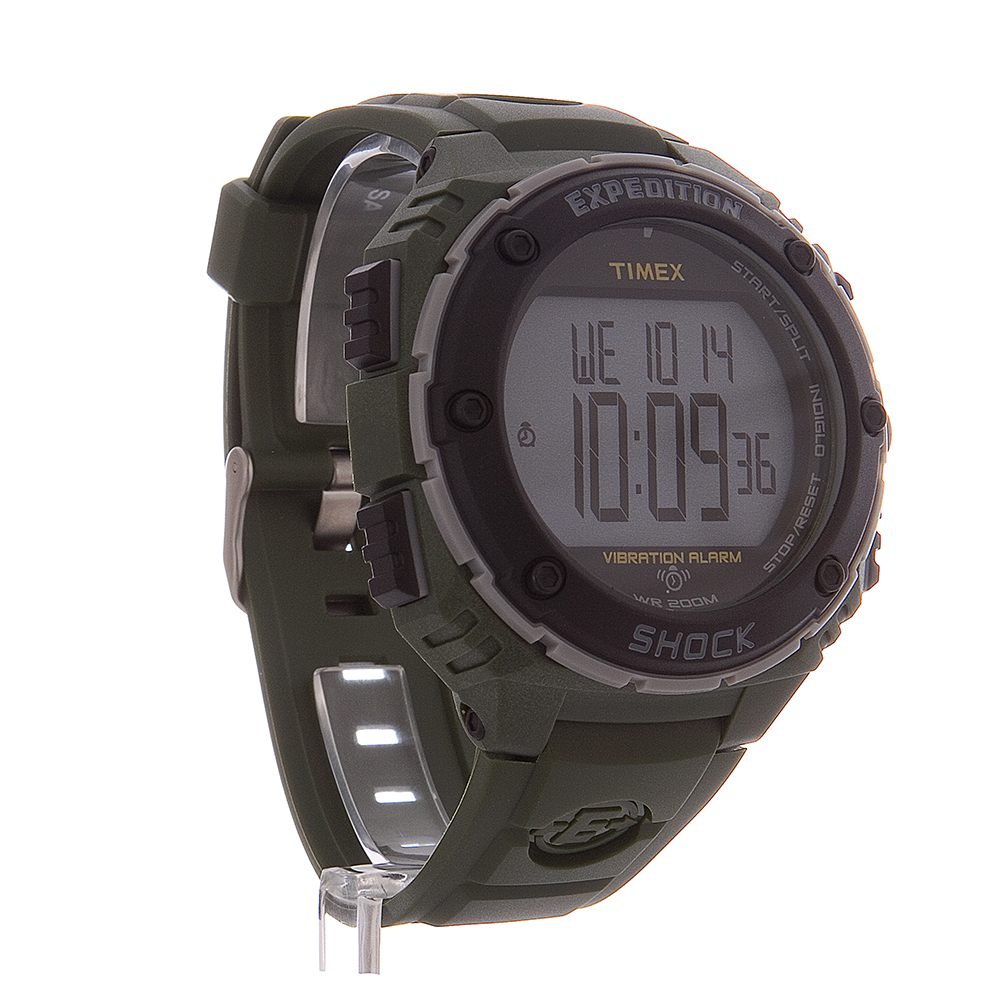 Timex Expedition 45mm Men's Digital Sport Watch - Green ... |Timex Expedition Digital Watches Men