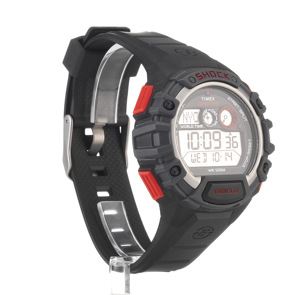 ff819a19f8b3 Reloj-Timex-Expedition-Hombre-choque-global-negro-durable-