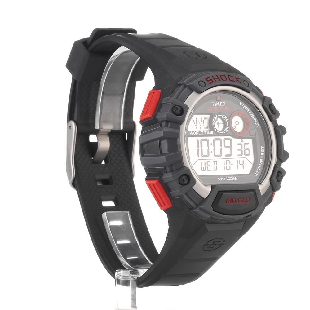 914513e3fa0e Reloj-Timex-Expedition-Hombre-choque-global-negro-durable-