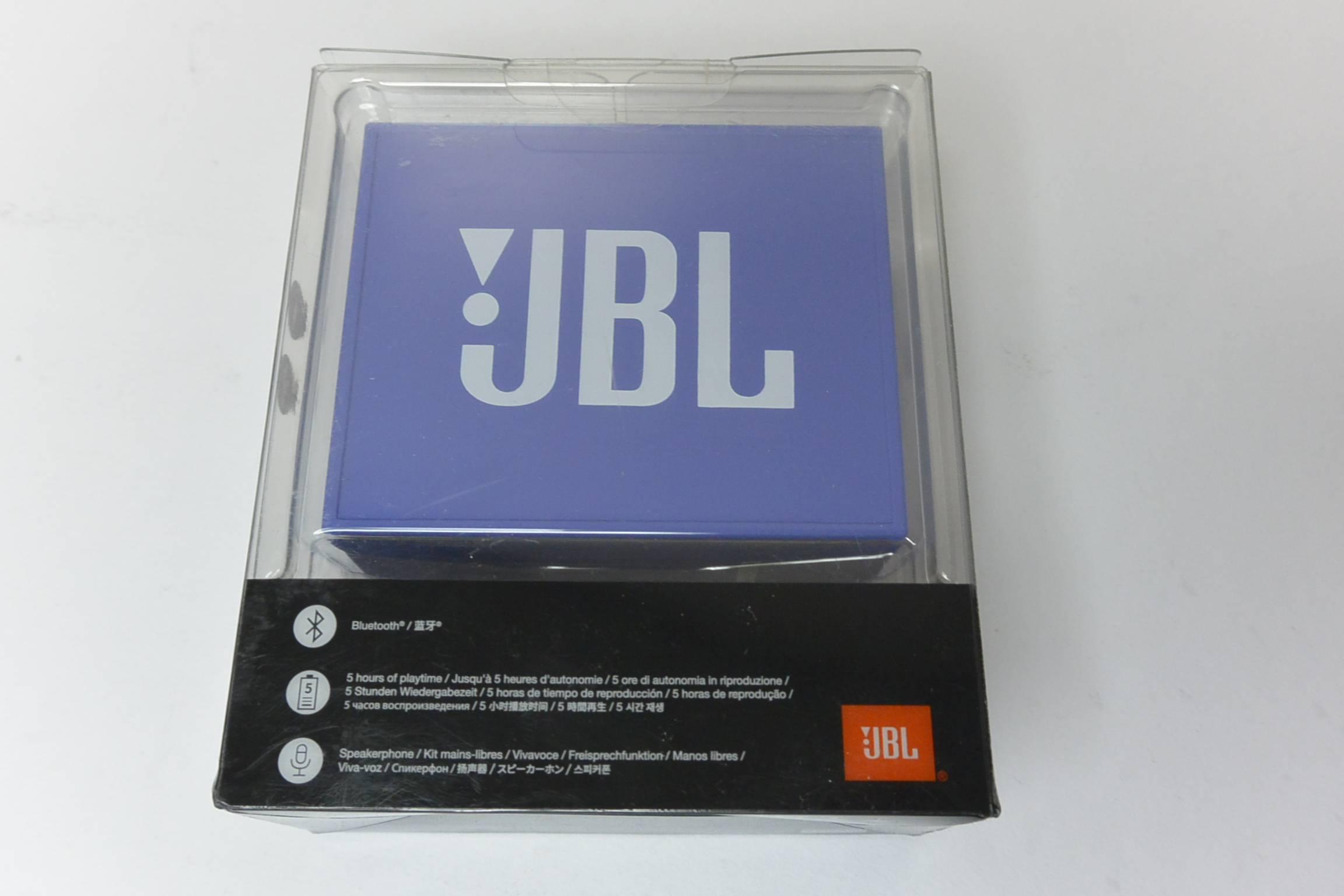 new oem jbl go blue portable wireless bluetooth speaker w. Black Bedroom Furniture Sets. Home Design Ideas