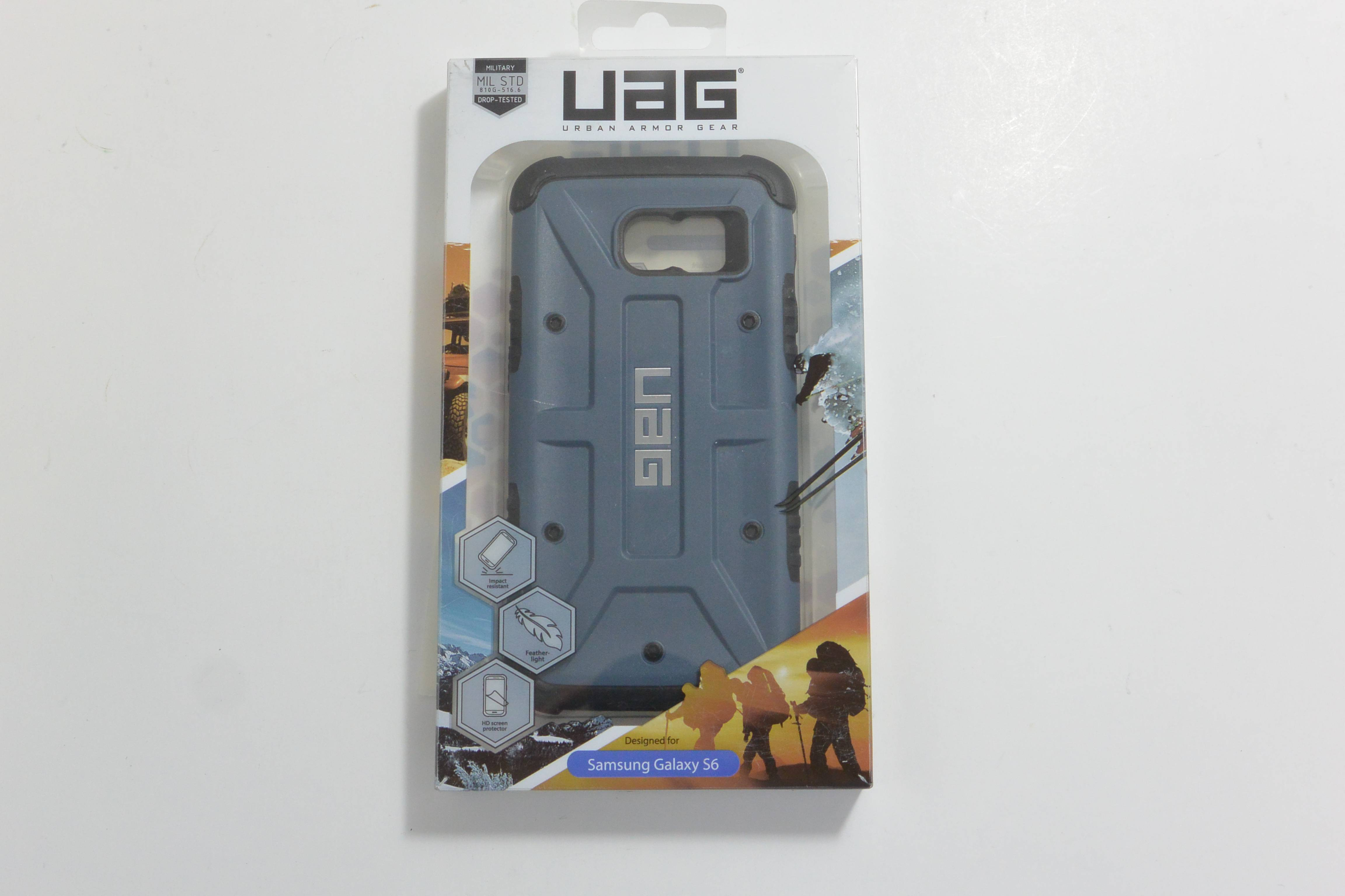 New Open Box Oem Urban Armor Gear Composite Slate Case For Samsung Uag Iphone 6 Plus 6s Galaxy S6