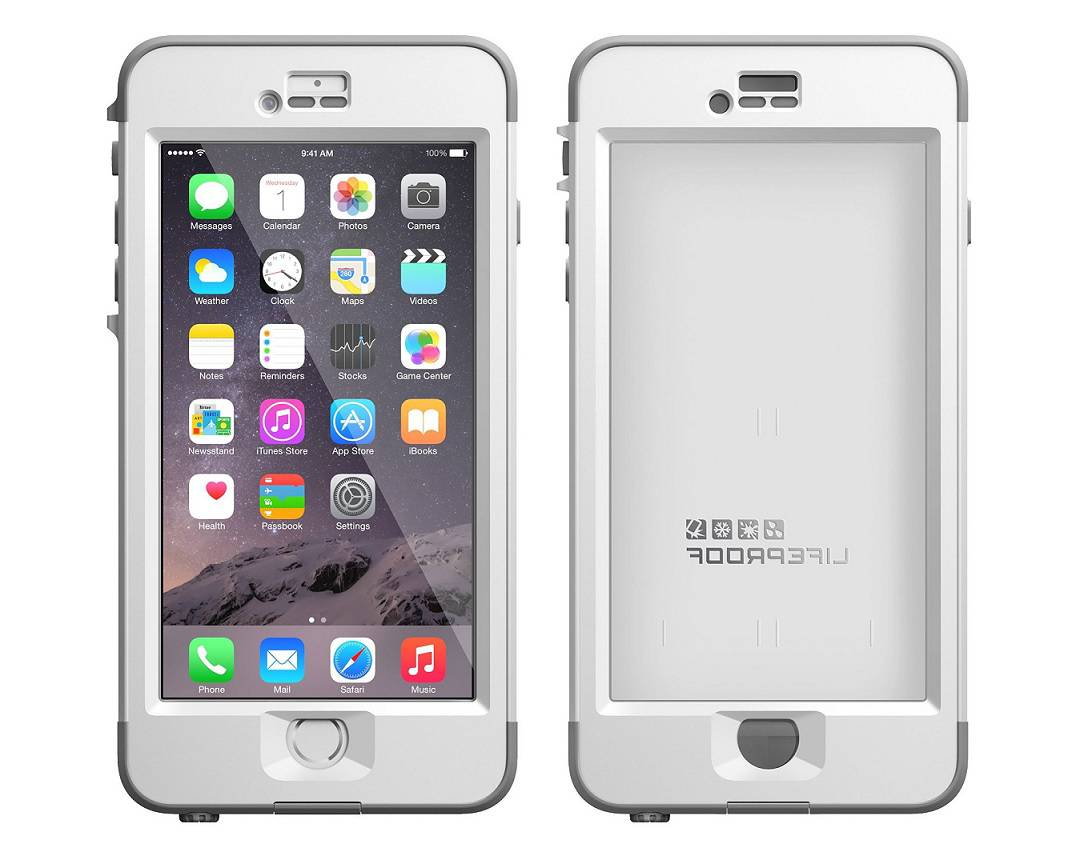iphone 6 lifeproof case oem lifeproof white gray nuud series apple iphone 6 plus 5 14994