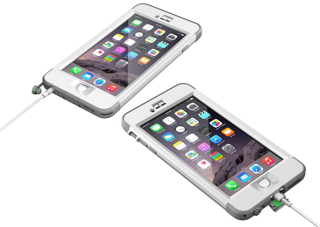 lifeproof case iphone 6 oem lifeproof white gray nuud series apple iphone 6 plus 5 15620