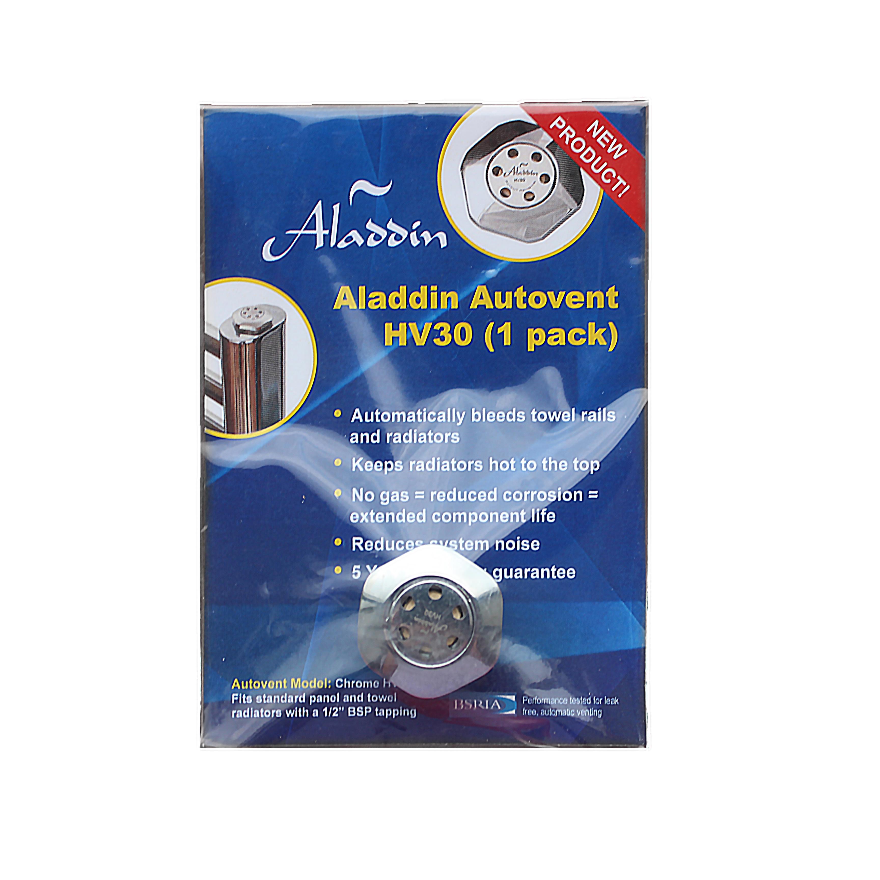 Aladdin Autovents Air Bleed Valve Radiator Towel Rail Cartridge ...