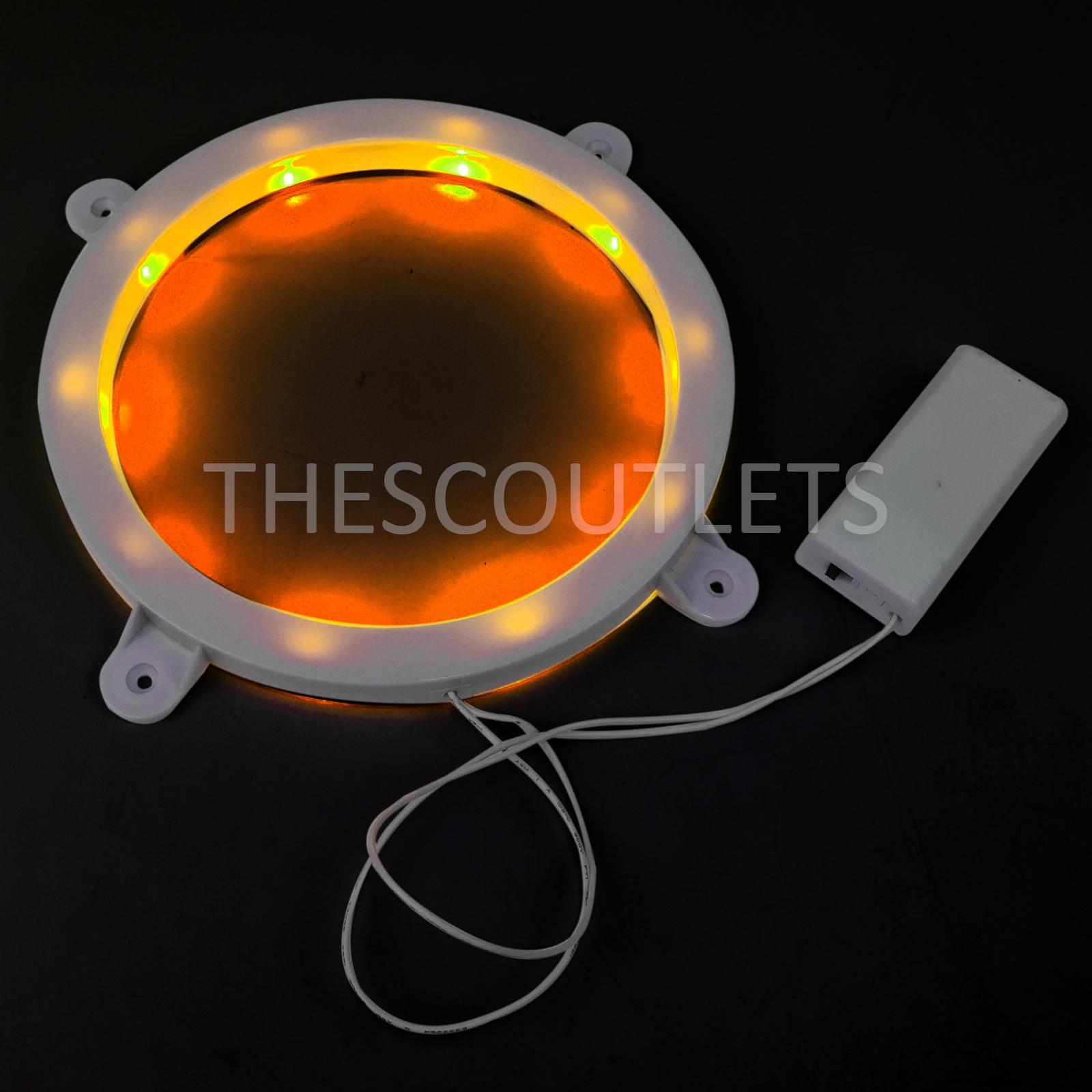 Set-of-2-Cornhole-Night-Light-Dadhole-Corn-Hole-Bean-Bag-Toss-Board-LED thumbnail 3