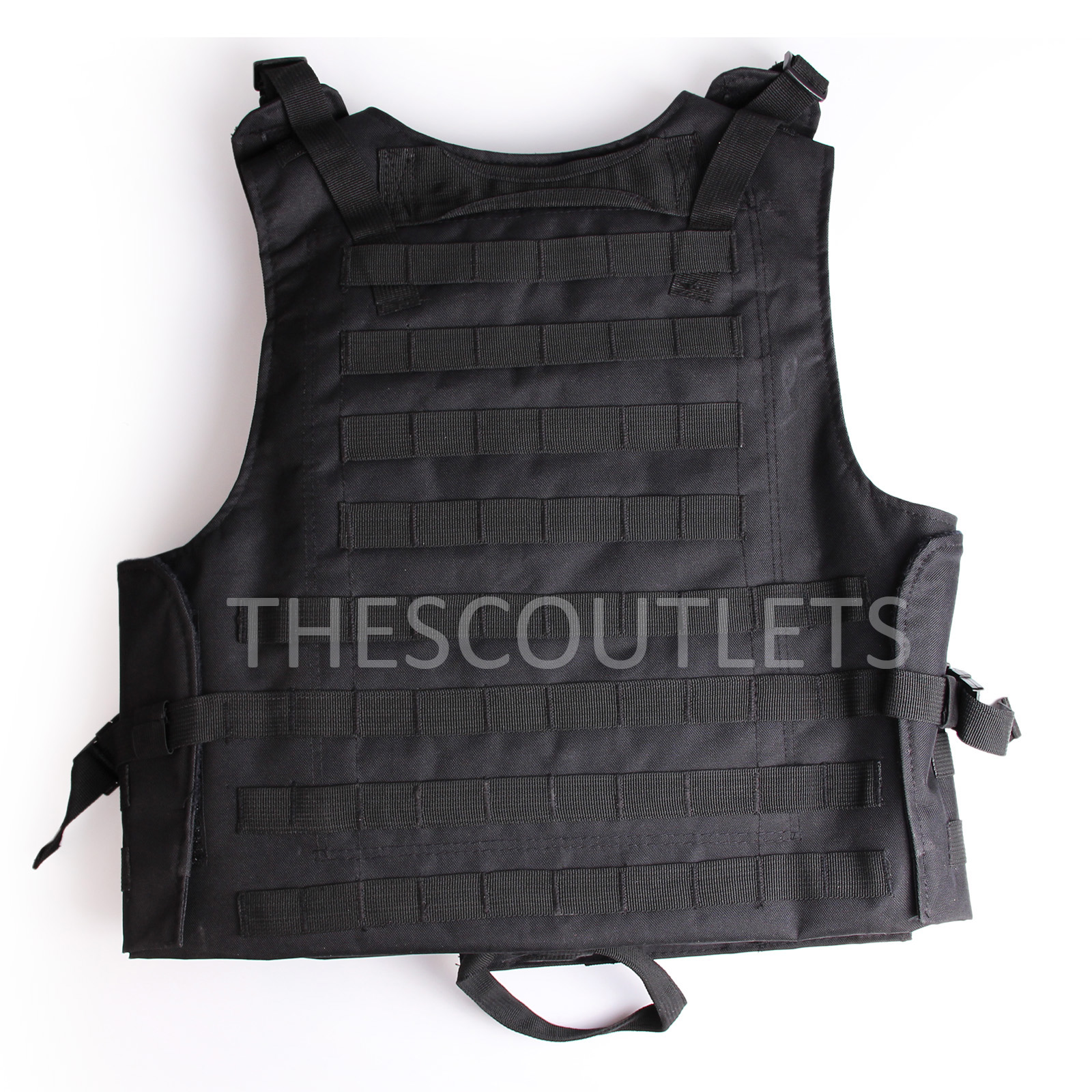 Military-Tactical-Paintball-Army-Molle-Carrier-Adjustable-Airsoft-Combat-Vest thumbnail 5