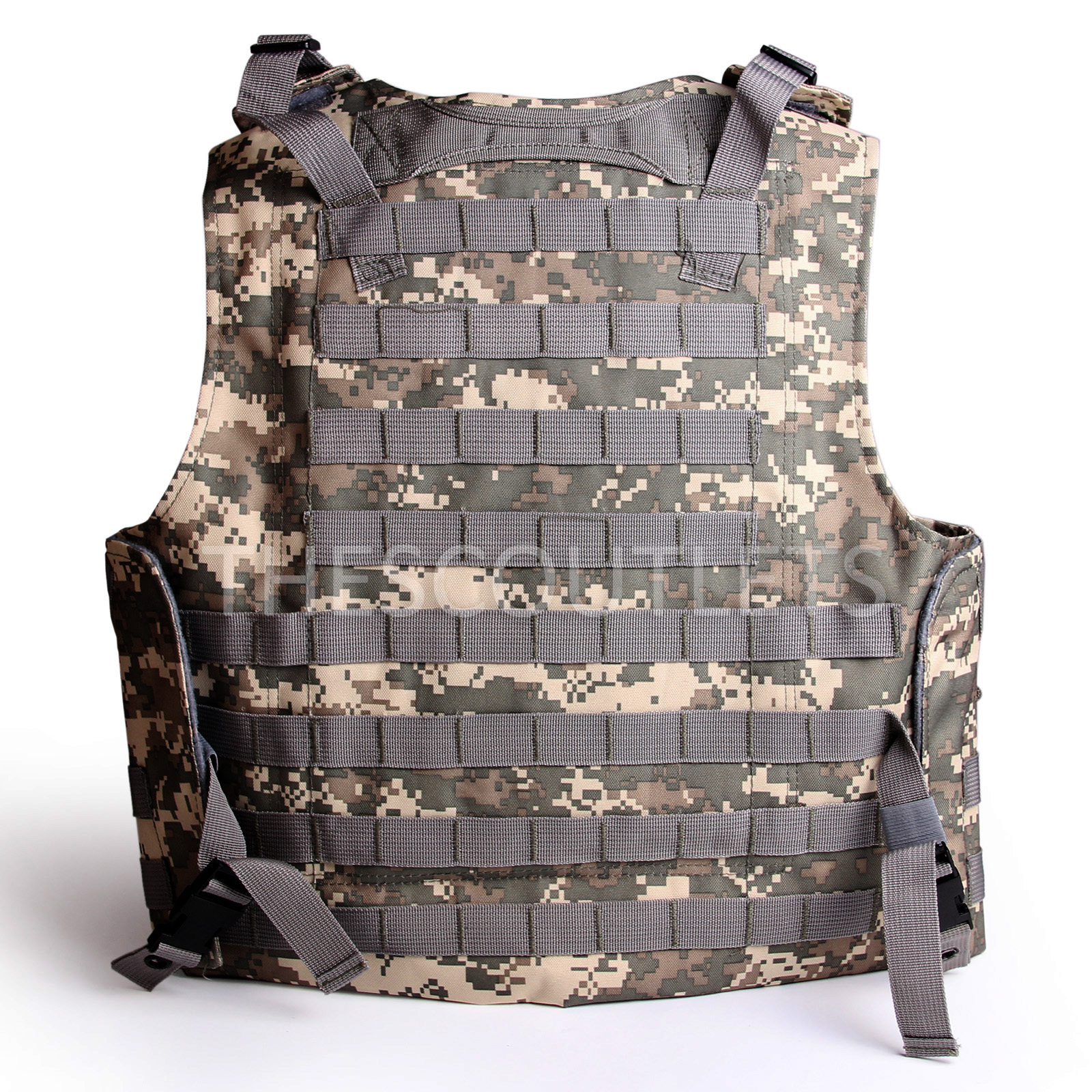 Military-Tactical-Paintball-Army-Molle-Carrier-Adjustable-Airsoft-Combat-Vest thumbnail 10