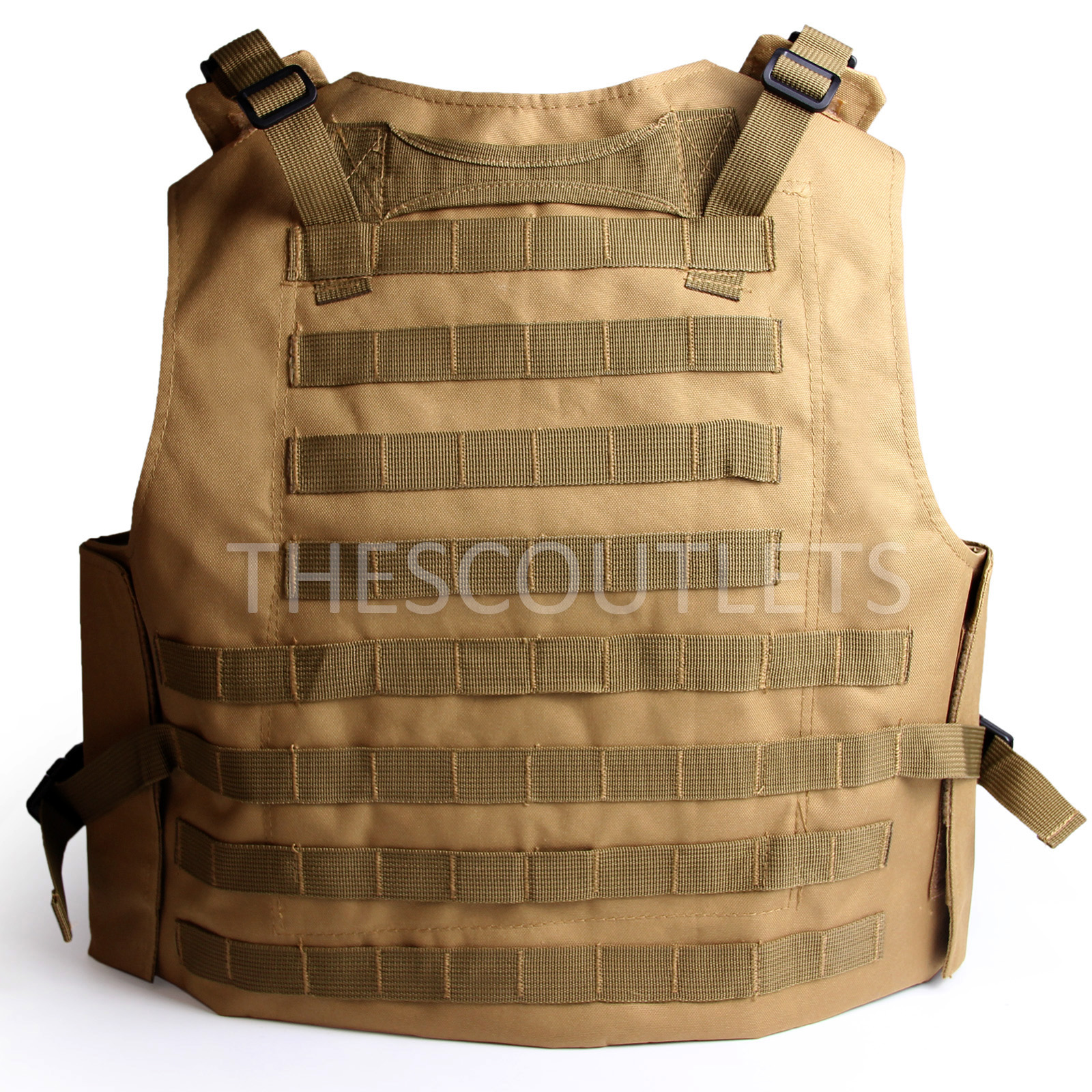 Military-Tactical-Paintball-Army-Molle-Carrier-Adjustable-Airsoft-Combat-Vest thumbnail 21