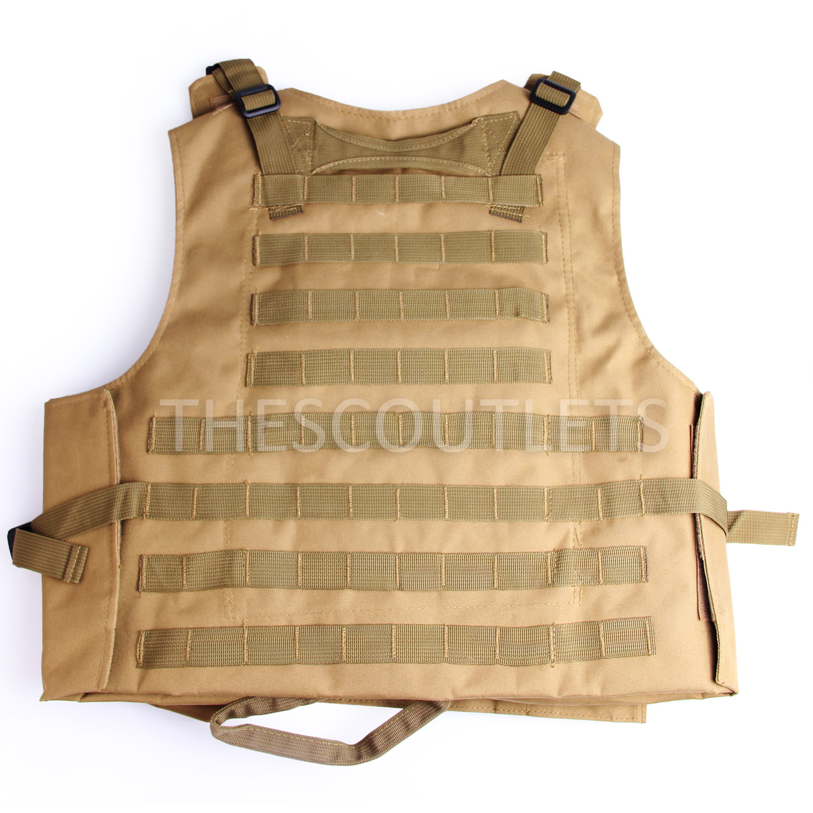 Military-Tactical-Paintball-Army-Molle-Carrier-Adjustable-Airsoft-Combat-Vest thumbnail 23
