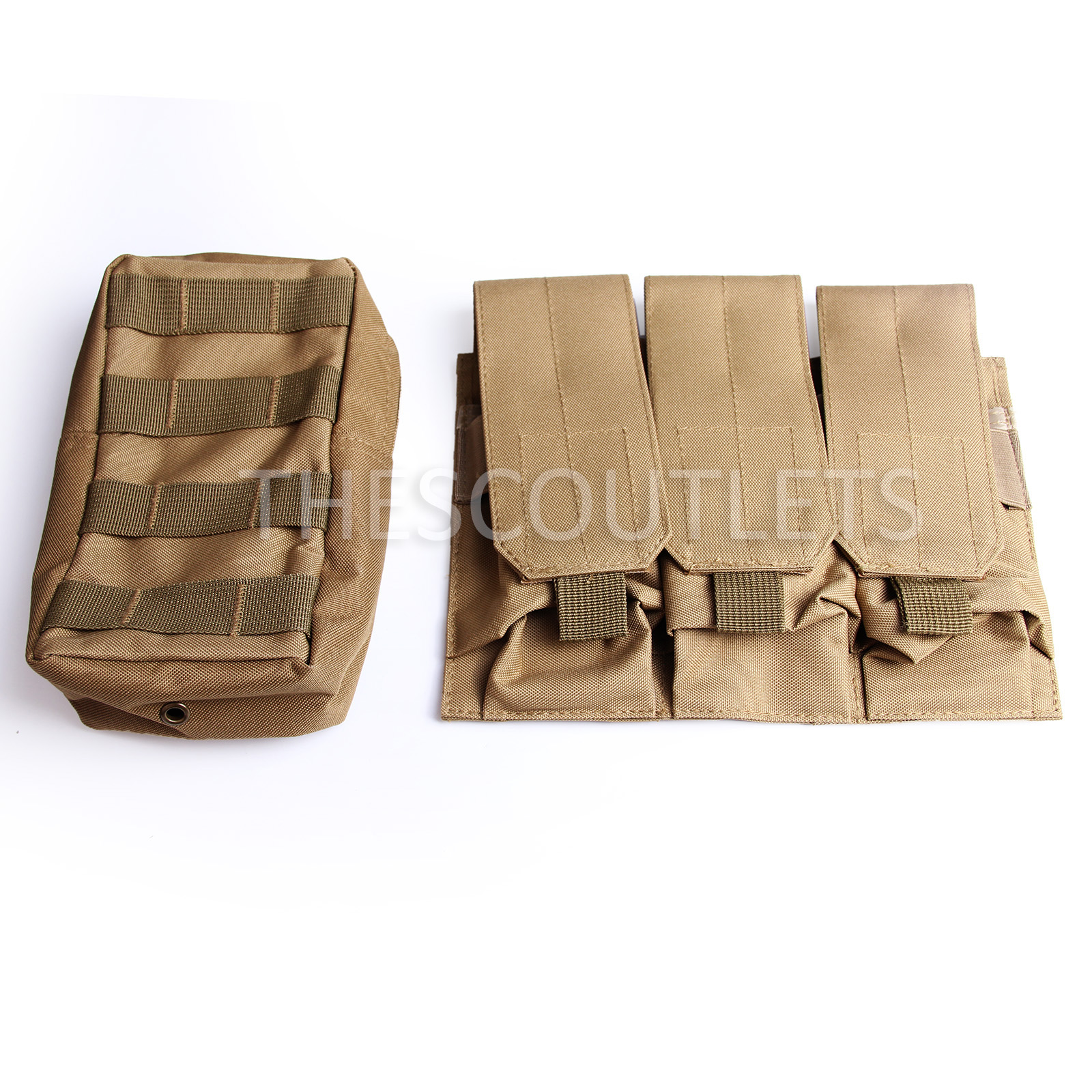 Military-Tactical-Paintball-Army-Molle-Carrier-Adjustable-Airsoft-Combat-Vest thumbnail 27