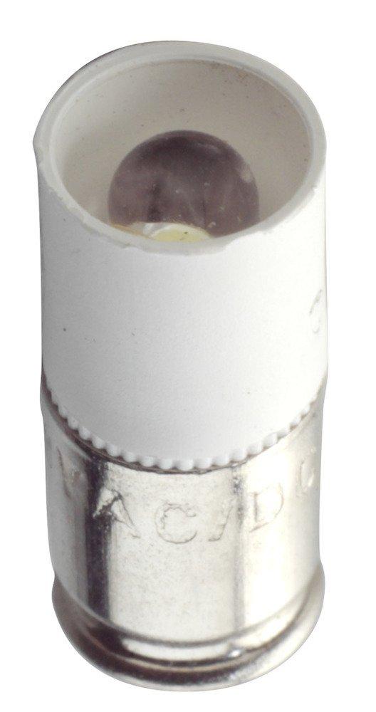 W2.1x4.6d Wedge Base White EIKO LED-24-T1.75 WEDGE-W 24-28VAC//DC T1-3//4