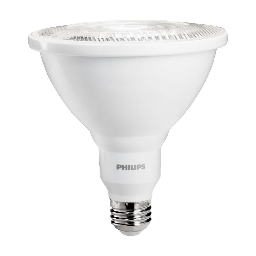 Led Bulbs For Enclosed Fixtures: PHILIPS 460105 12W 120V LED PAR38 Flood 3000K Dimmable