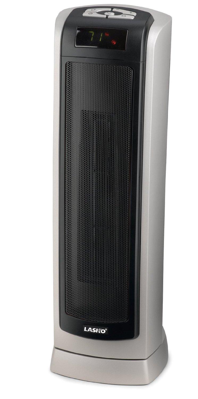lasko 5521 remote control ceramic tower heater with. Black Bedroom Furniture Sets. Home Design Ideas