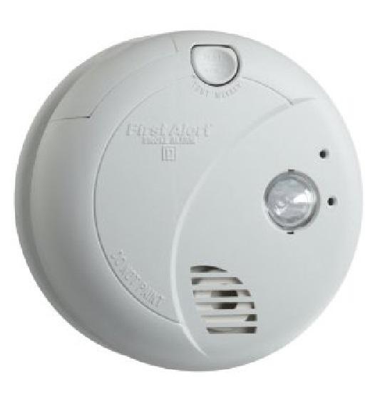 Brk Electronics 7020b 120v Ac Dc Photo Smoke Alarm W