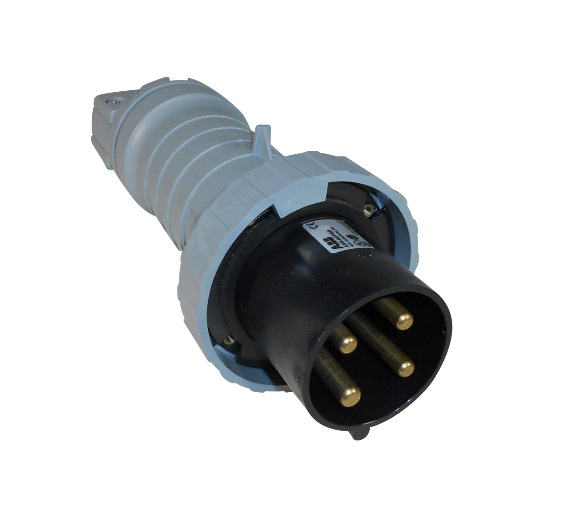 Details about ABB Russelstoll ABB460P5W IEC Plug 60A 3 Pole 4 Wire on atex plug wiring, terminal block wiring, dot plug wiring, nema plug wiring, semi plug wiring, icc plug wiring, samsung plug wiring, usa plug wiring,