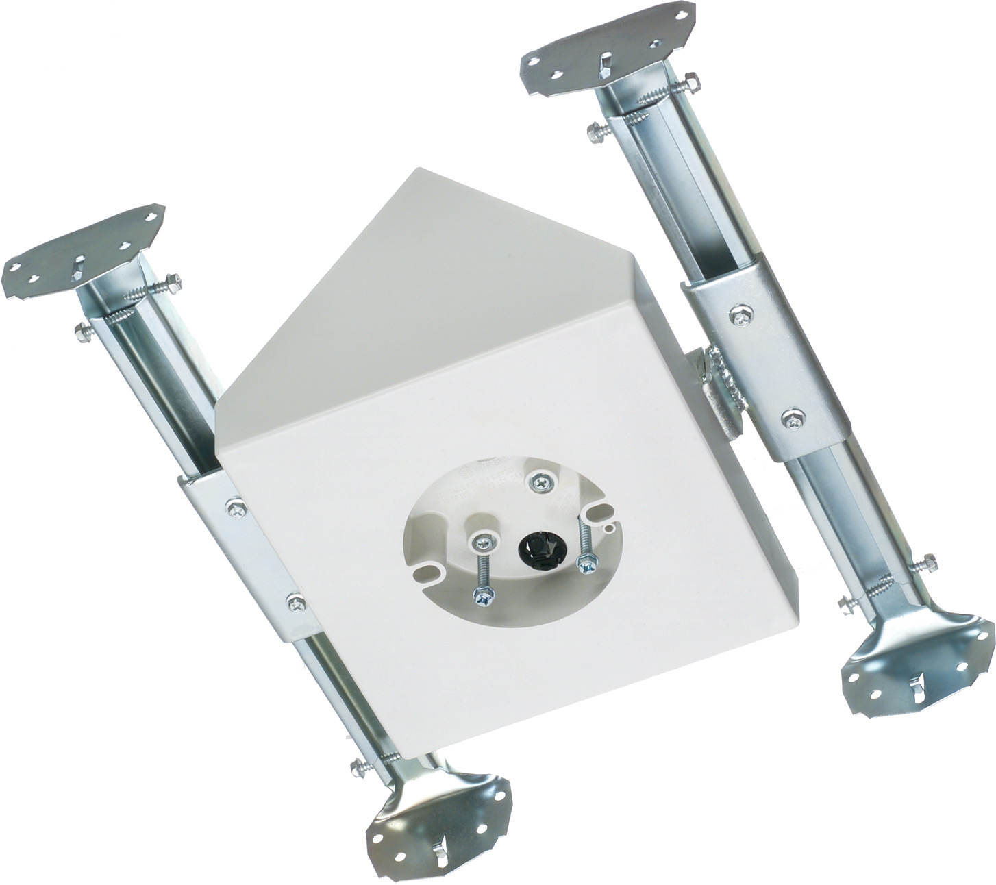 Ceiling Lamp Bracket: Fan & Fixture Mounting Box W