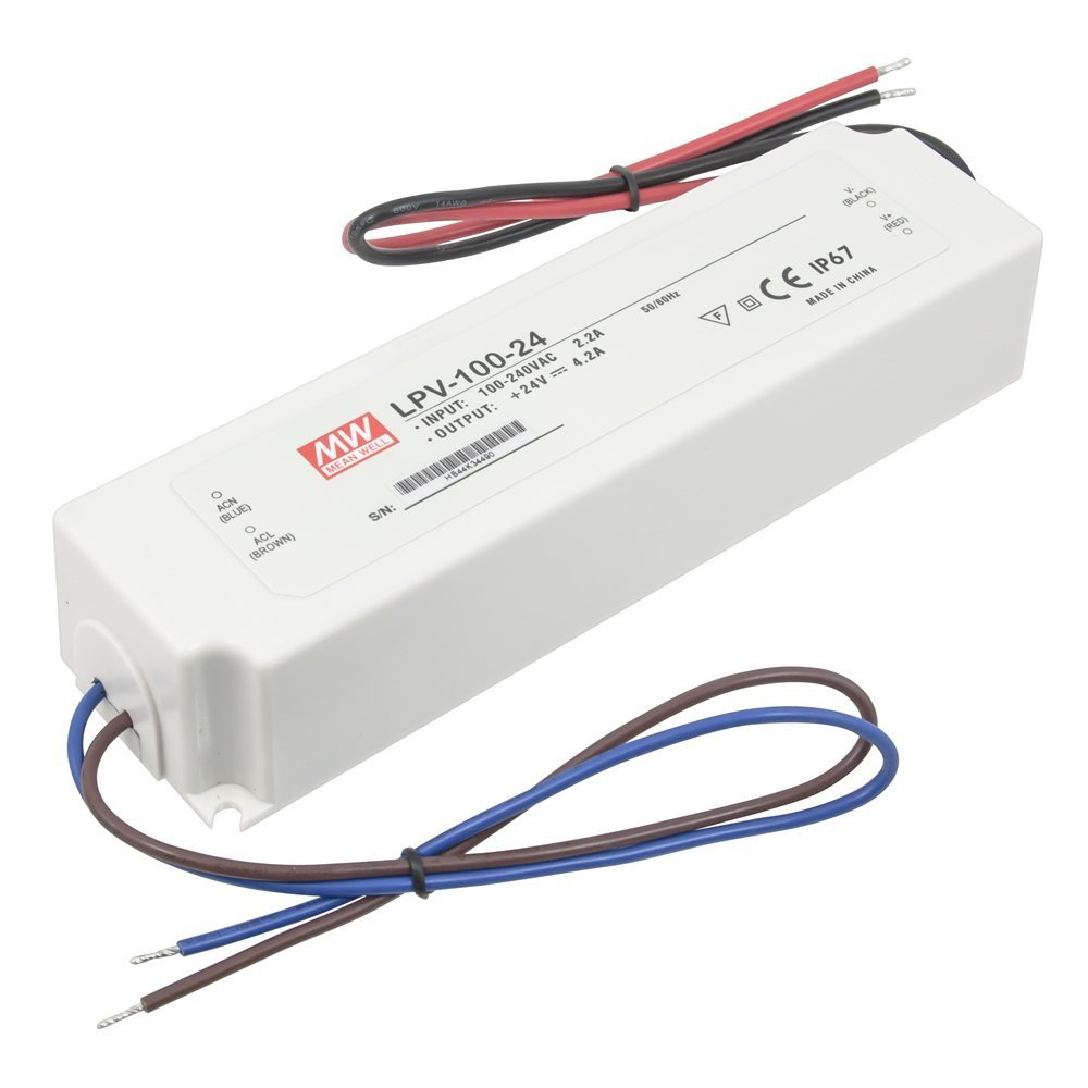 Hardwire power supply 24 volt dc 1 60 watts not for Power supply for 24v dc motor