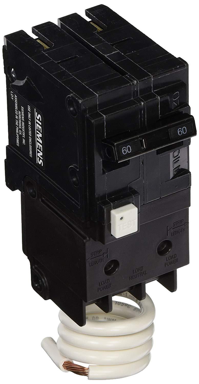 Siemens Qf260a Breaker 60a 2p 120  240v Ground Fault