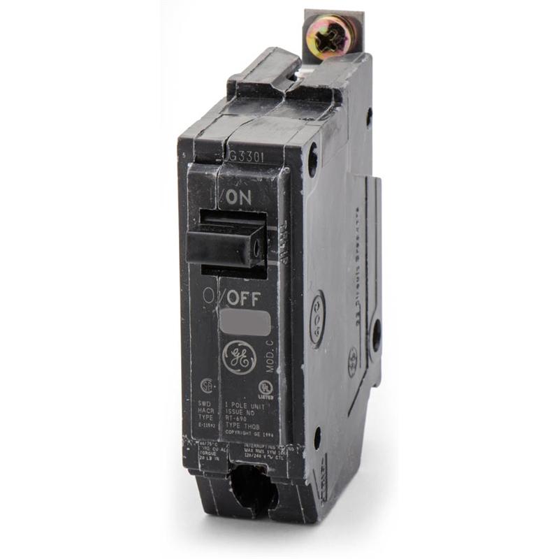 GE THQB1120ST1 20A 120/240V 1P Shunt Trip Bolt-On Circuit