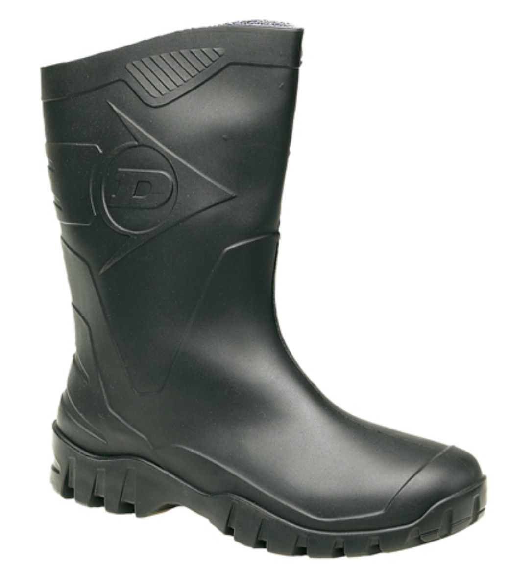 Mens/Ladies Dunlop Dee 4 Widecalf Wellies/Wellingtons Black or Green Sizes 4 Dee to 12 4fd76e