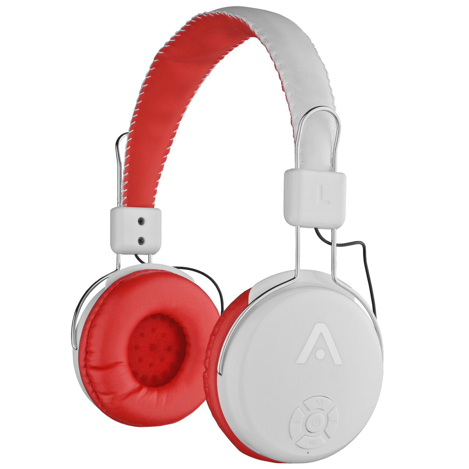 audiomate a21 wireless bluetooth headphones with fm radio and microphone ebay. Black Bedroom Furniture Sets. Home Design Ideas