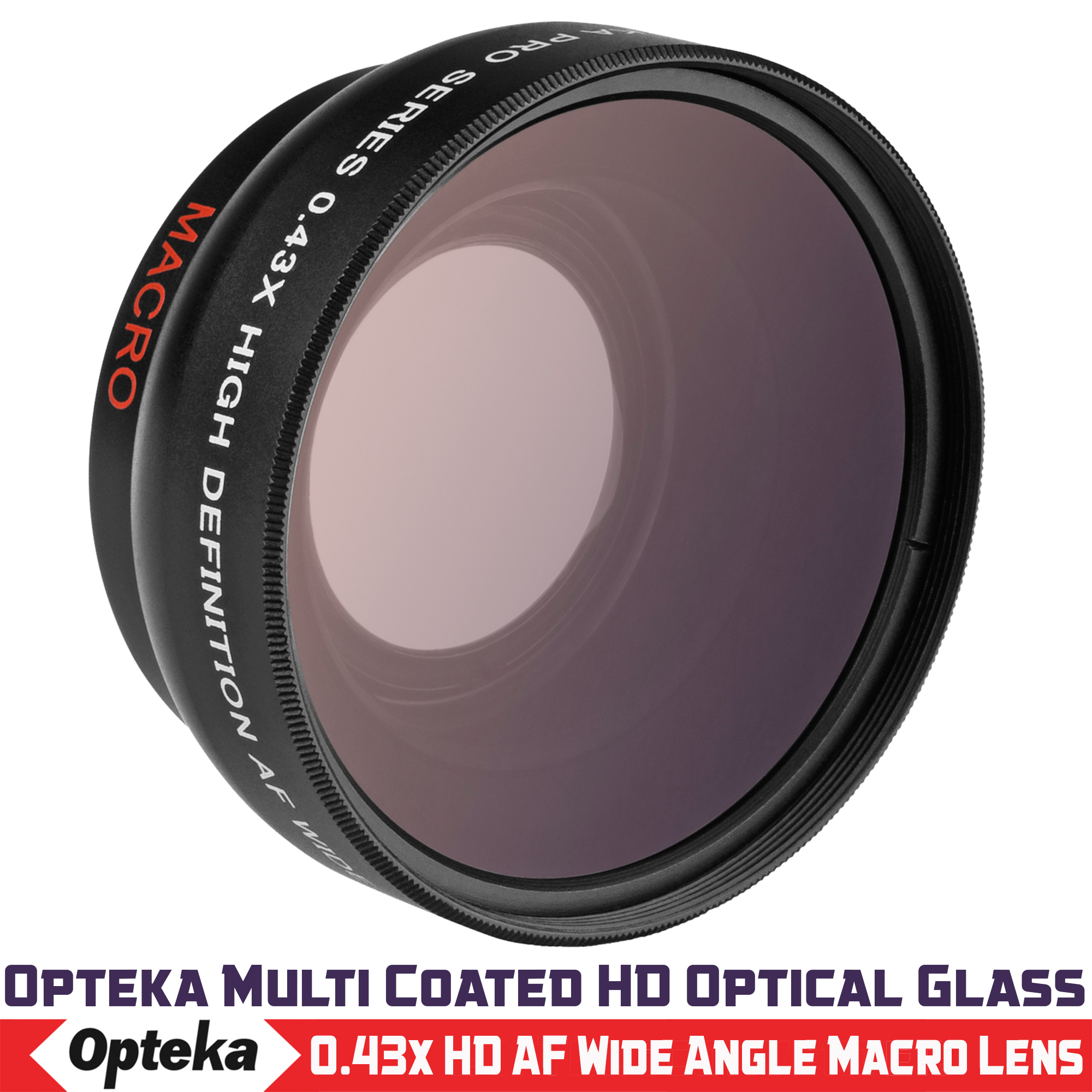 New 0.43x High Definition Wide Angle Conversion Lens for Sony 50mm f//1.8 E Mount