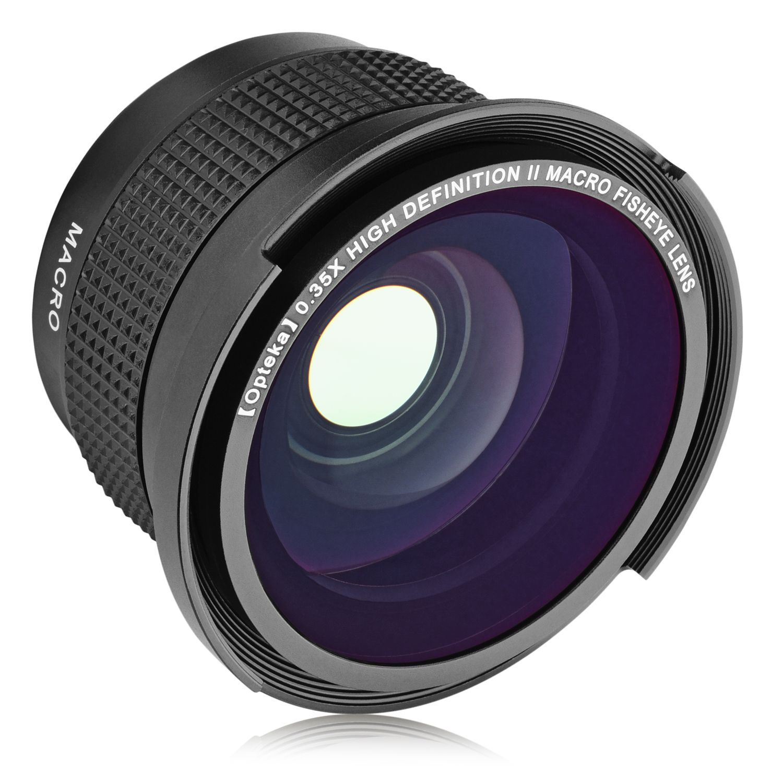 0.3X Professional High Grade Fish-Eye Lens for Canon VIXIA HF M301