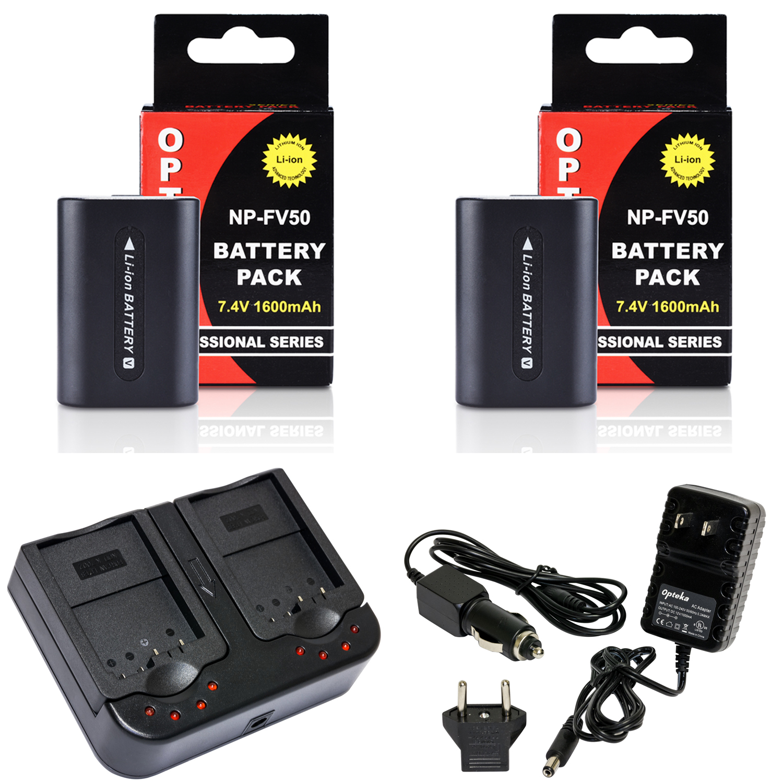 Battery Pack for Sony HDR-XR260V HDR-XR550V Handycam Camcorder HDR-XR350V