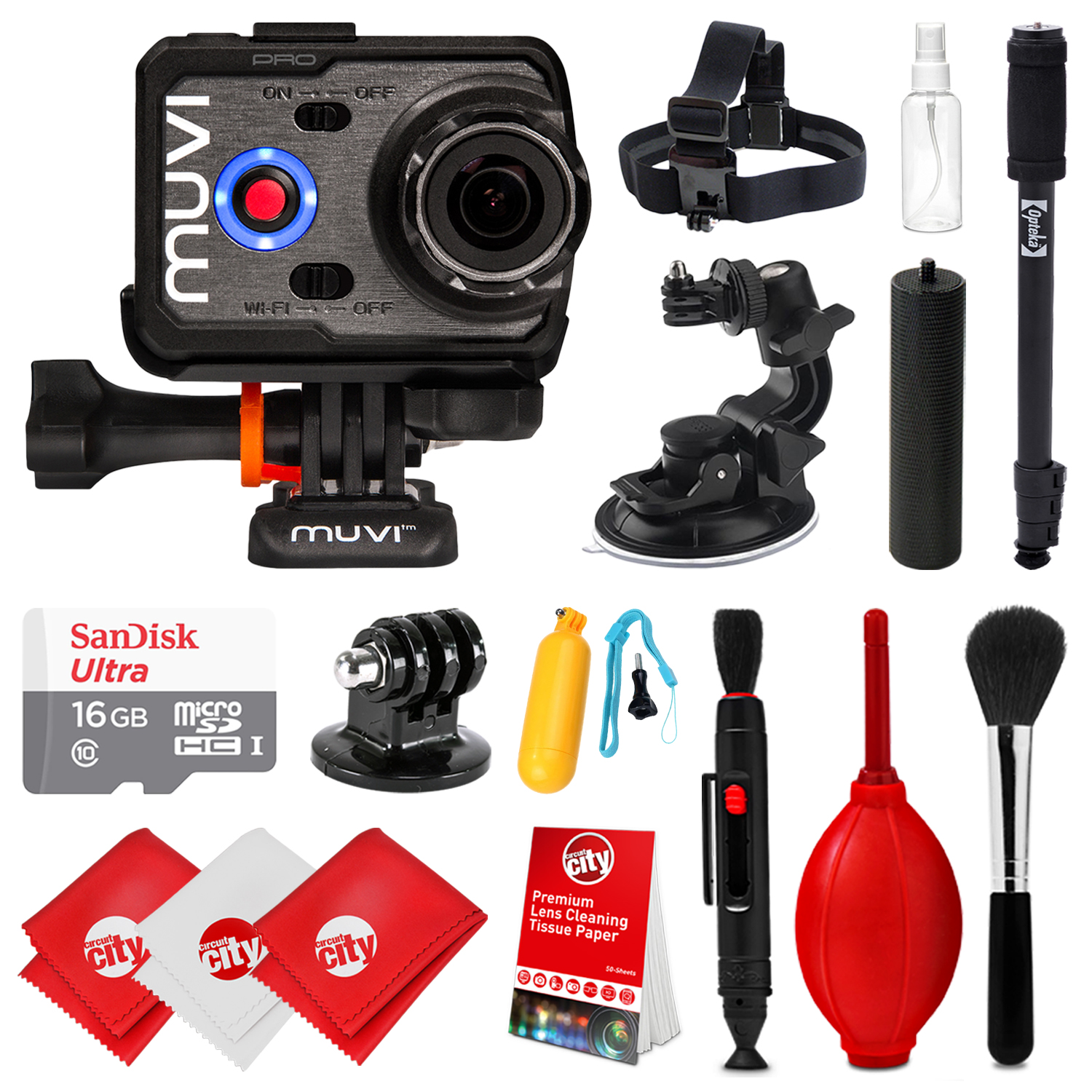 Veho Muvi K-series Action Camera Drivers for PC