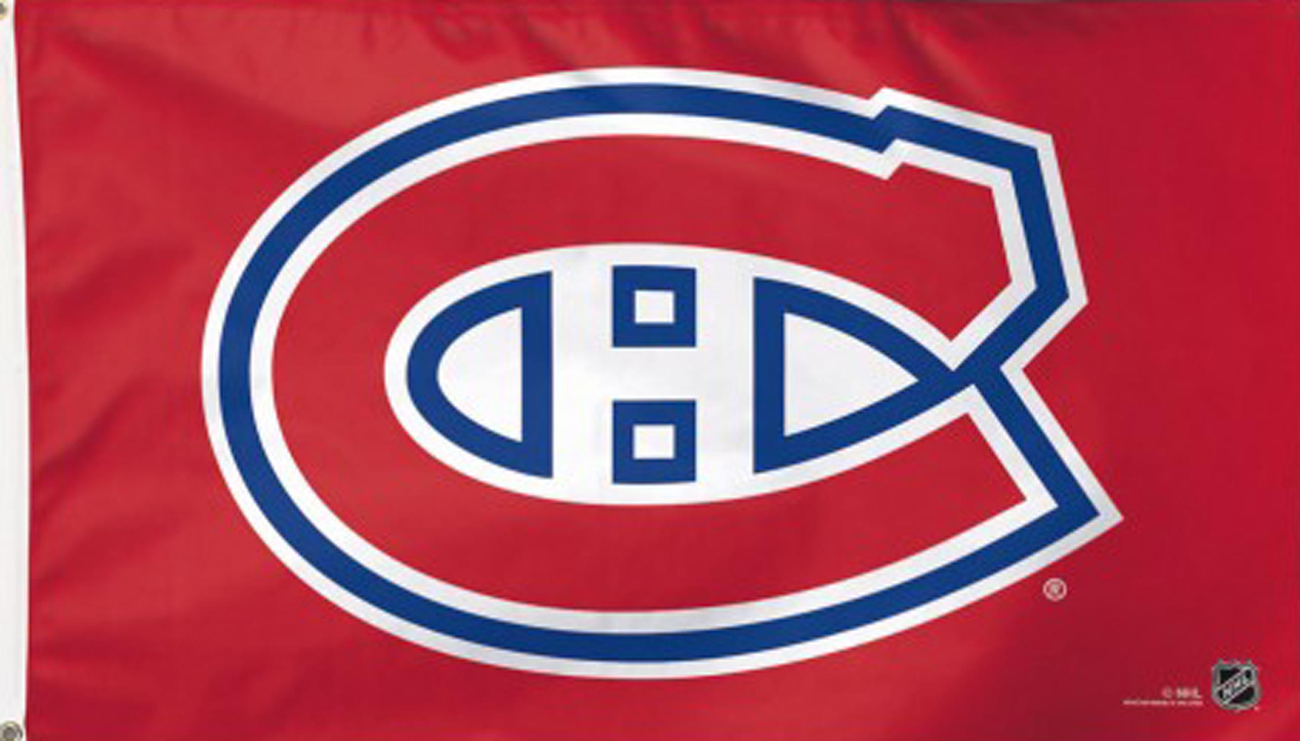 Montreal Canadiens Flag 3/' x 5/' ft = 90 x 150cm NHL Hockey Banner