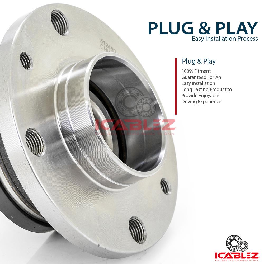 512480 Rear Wheel bearing For Fiat 500 2012 2013 2014 2015 2016 2017 2018 2019
