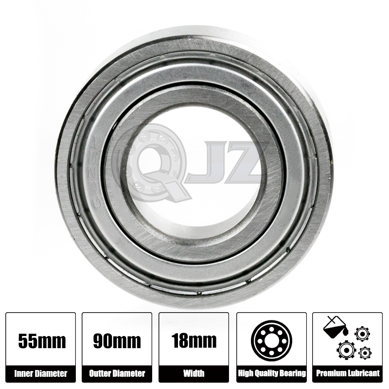 1x 6006-OPEN BALL BEARING 30mm X 55mm X 13mm Ship From US