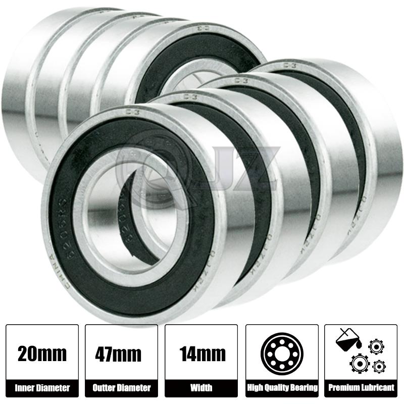 7200B Bearing Single Row Angular Contact Ball Bearings 10mm Bore//Axle 7200