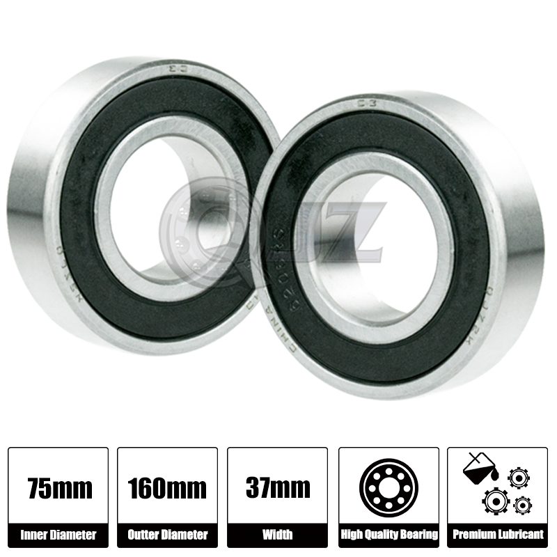 8x 6914-2RS Ball Bearing 70mm x 100mm x 16mm Rubber Seal Premium RS 2RS NEW