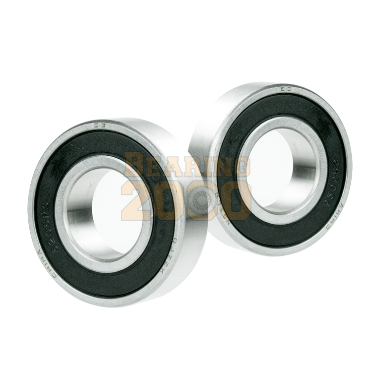 4x 6016-2RS Ball Bearing 80mm x 125mm x 22mm Rubber Seal Premium RS 2RS NEW