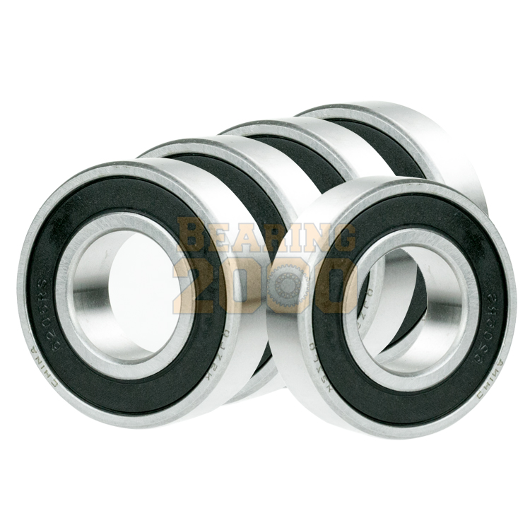 1x 62//22-2RS Ball Bearing 22mm x 50mm x 14mm Rubber Seal Premium RS 2RS NEW
