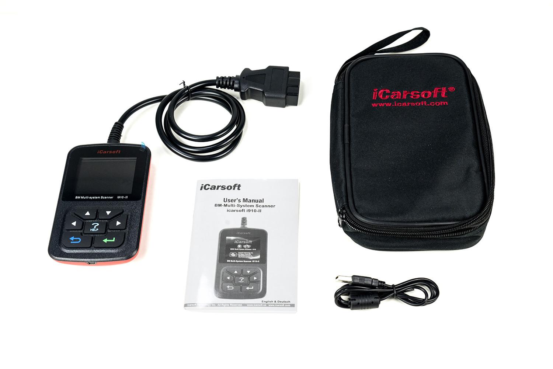 Icarsoft Bmw Mini Diagnostic Scanner Tool Code Reader Obd E46 M3 Fault Chart I910 Ii 2